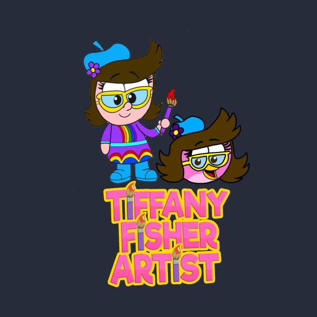 Tiffany Fisher Artist Human Girl, Bird, & Logo ...