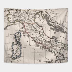 Old Italy Map Tapestries | TeePublic on ancient maps of italy, cumae italy, online map venice italy, old map of florence italy, old maps prints, old style map of italy, old material, early people of italy, old naples italy, old world maps murals, old world cartography, old world style fabric, detailed map florence italy, towns in bari italy, old world rome, historical maps of italy, printable map italy, 13th century italy, old world italian, tunisia italy,