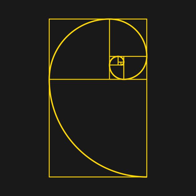 Golden Ratio Spiral Fibonacci Spiral