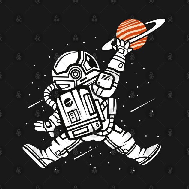 Spaceman Slam dunk