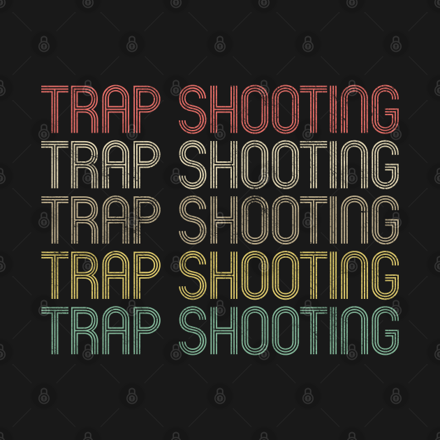 Retro Style Trap Shooting Design