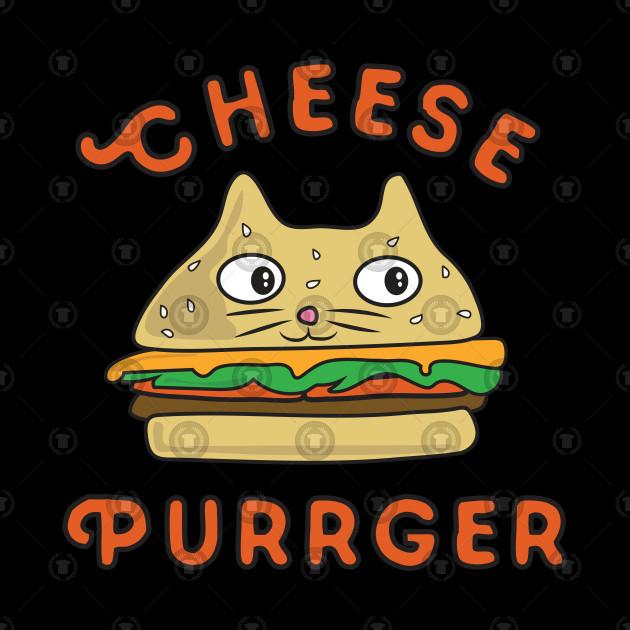 Cheeseburger Cat Cheese Purrger
