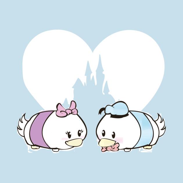 Tsum Tsum Love - Donald & Daisy