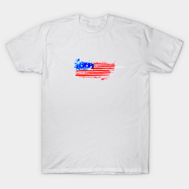 bea767dec0a9 USA Flag Shirt 4th July Red White Blue Stars - Fourth Of July - T ...