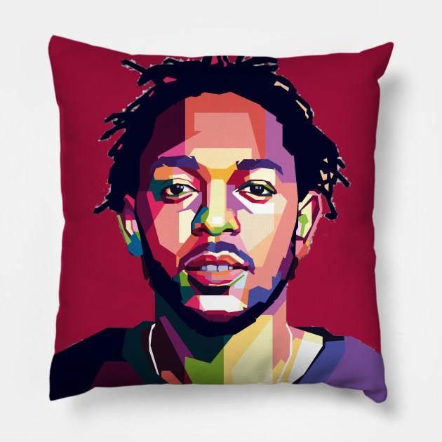 Kendrick Lamar Kendrick Lamar Pillow Teepublic