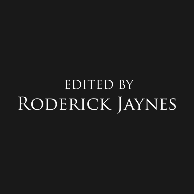 No Country For Old Men | Edited by Roderick Jaynes