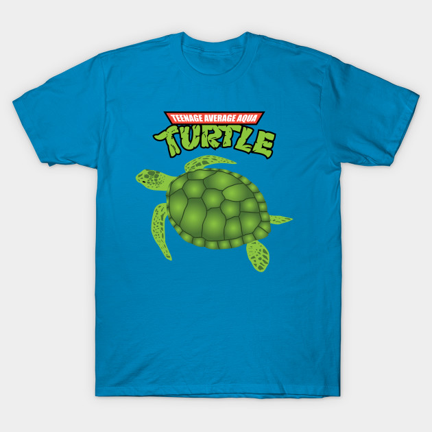 Teenage Average Aqua Turtle