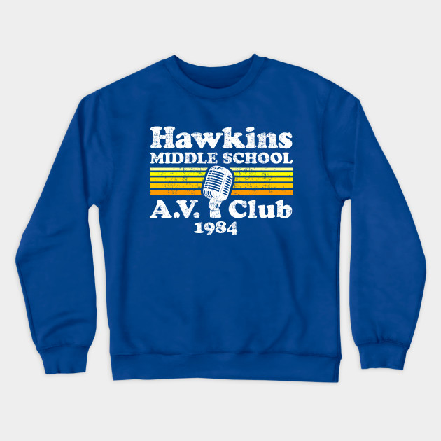 Stranger Things Hawkins Middle School A.V. Club