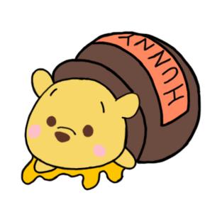 Pooh Bear's Honey Trouble t-shirts