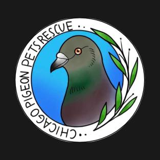 Chicago Pigeon Pets Rescue T-Shirt