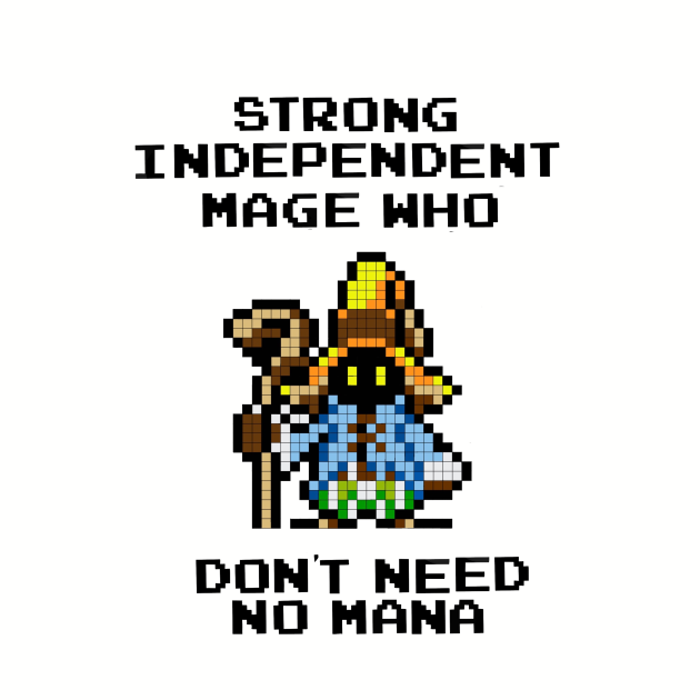 8 Bit Strong Independent Mage