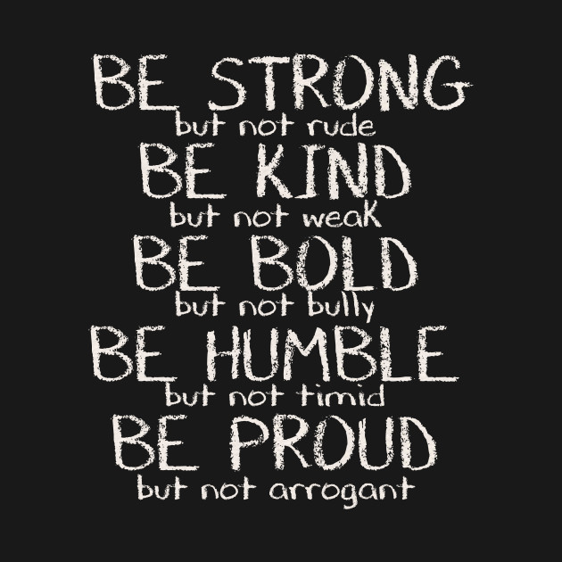 Be Strong Motivational Quote