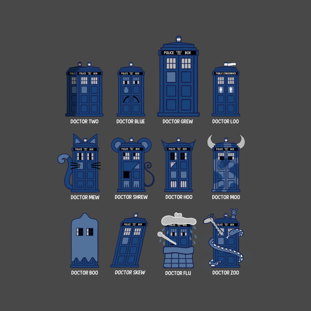 Alternative Practitioners - Doctor Who - T-Shirt   TeePublic