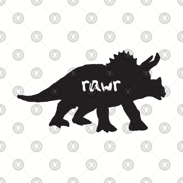 Dinosaur Rawr - Triceratops