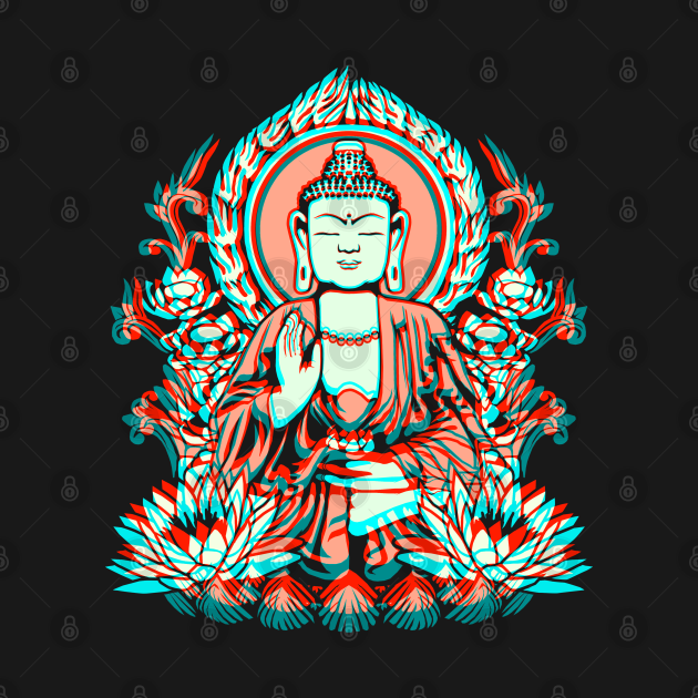Siddhartha Gautama Buddha Glitch