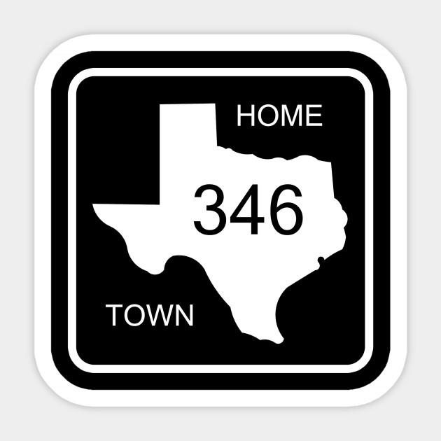Texas Home Town Area Code 346