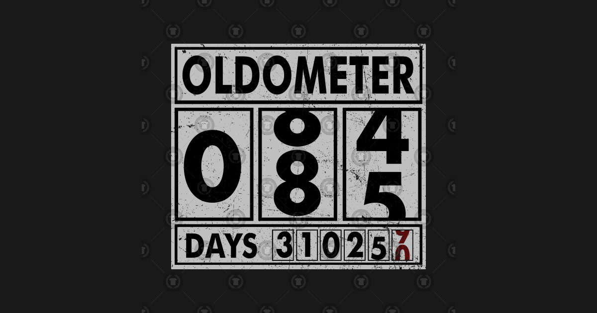 OLDOMETER 85 Years Old Made In 1933 85th Birthday Phone Case