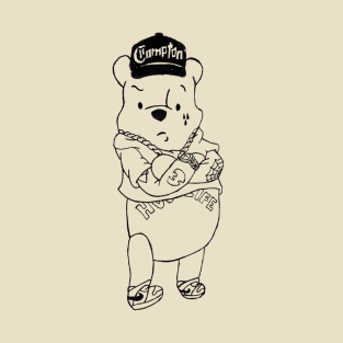 Gangster Pooh Bear t-shirts