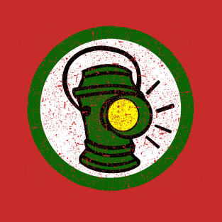 Alan Scott Distressed Logo
