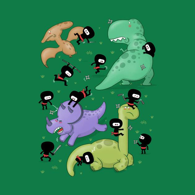 Ninjas vs. Dinosaurs