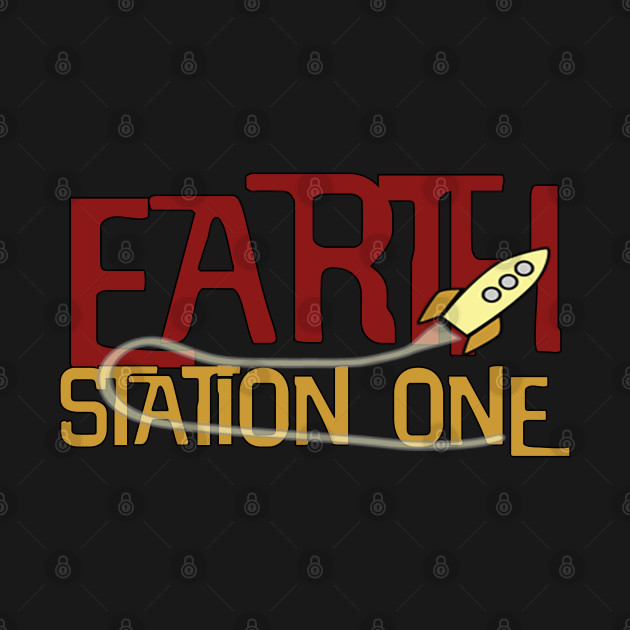 Earth Station One Rocket Ship