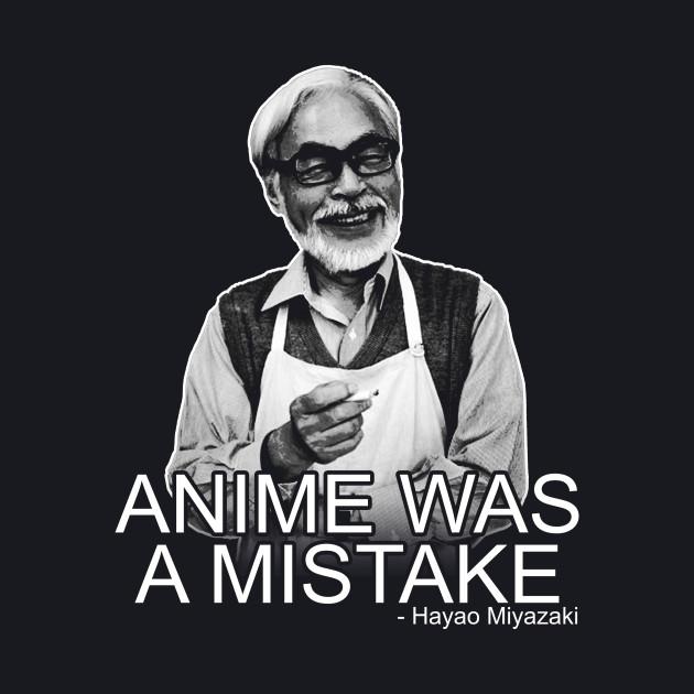 Miyazaki nunca dijo esto, fue un chiste de Tumblr