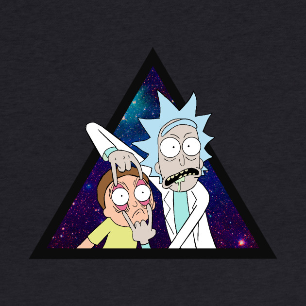 Rick and Morty trippin 4.