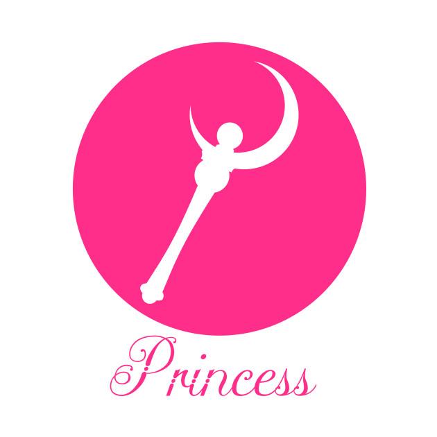 Crescent Wand - Princess