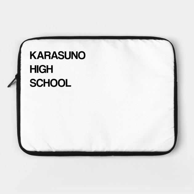 Karasuno High School Haikyu (Black)