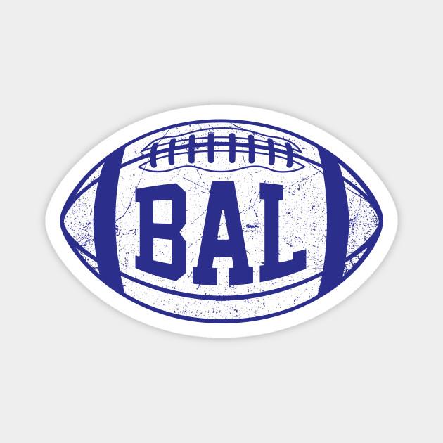 BAL Retro Football - Purple