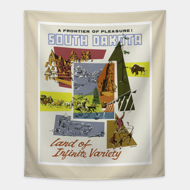 A Frontier Pleasure Vintage South Dakota Travel Design