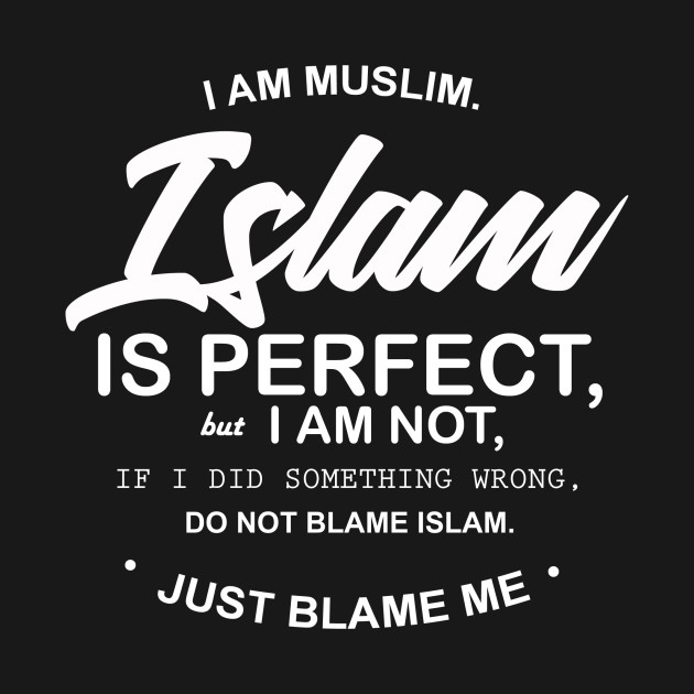 1644efa7c7bc I Am Muslim - Islam - Long Sleeve T-Shirt | TeePublic