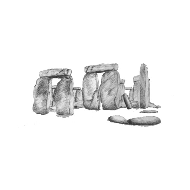 stonehenge drawing