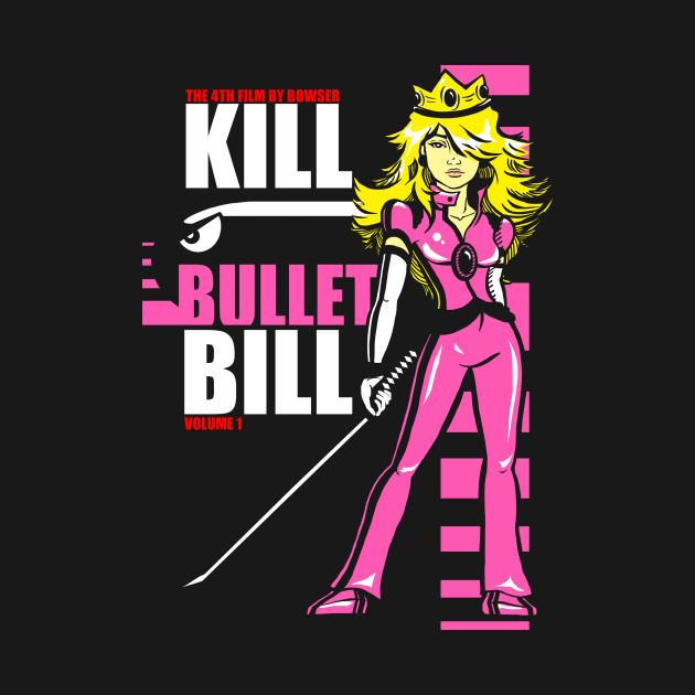 Kill Bullet Bill (Black & Magenta Variant)