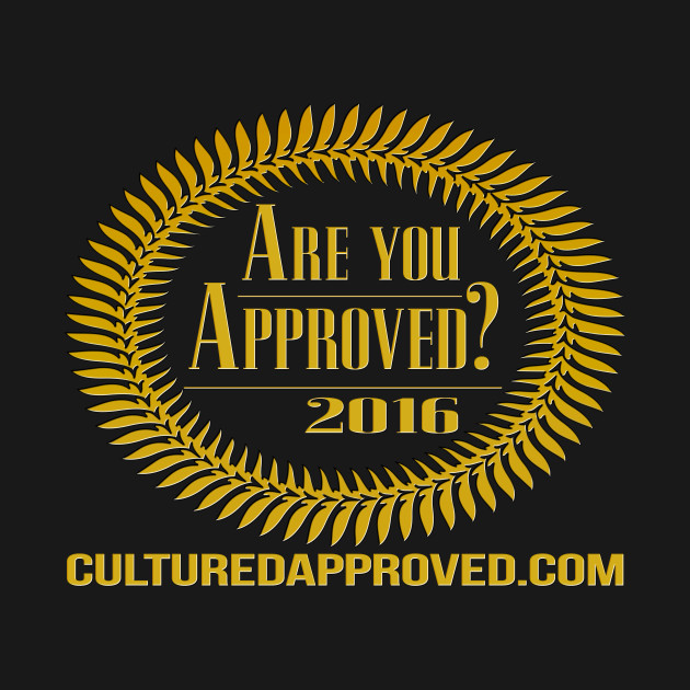 2016 Cultured Approved Logo Tee