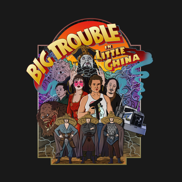 Big Trouble Little shirt