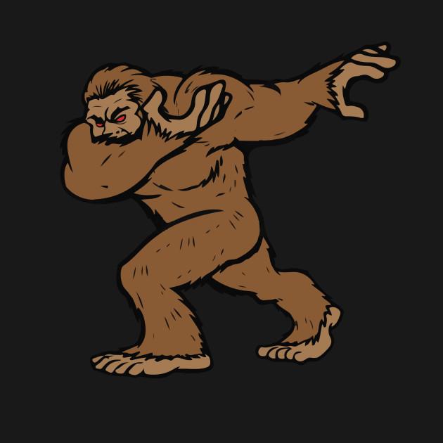 340b6ffcf Bigfoot Sasquatch Dabbing T Shirt Funny Dab - Bigfoot - Hoodie ...