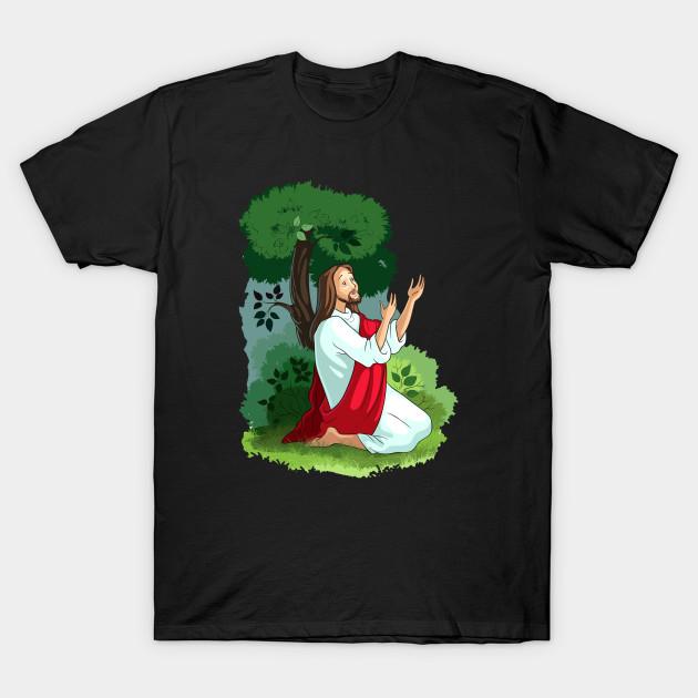 The agony in the garden - Religious - T-Shirt | TeePublic