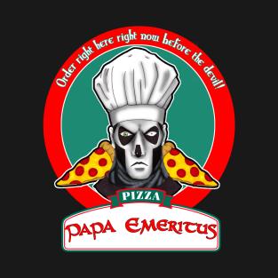 Papa Emeritus Pizzeria t-shirts