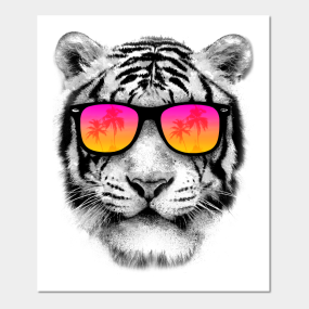 The Coolest Tiger Wall Art