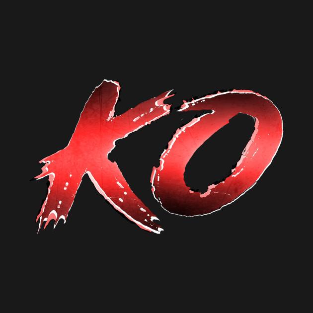 Street Fighter style KO
