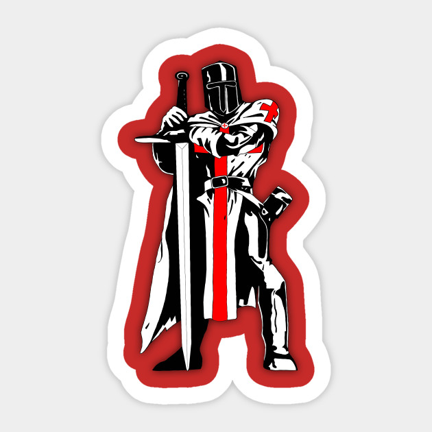 Knights Templar Assassins Creed Brotherhood Autocollant Teepublic Fr
