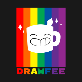 Drawfee Supports Pride! t-shirts