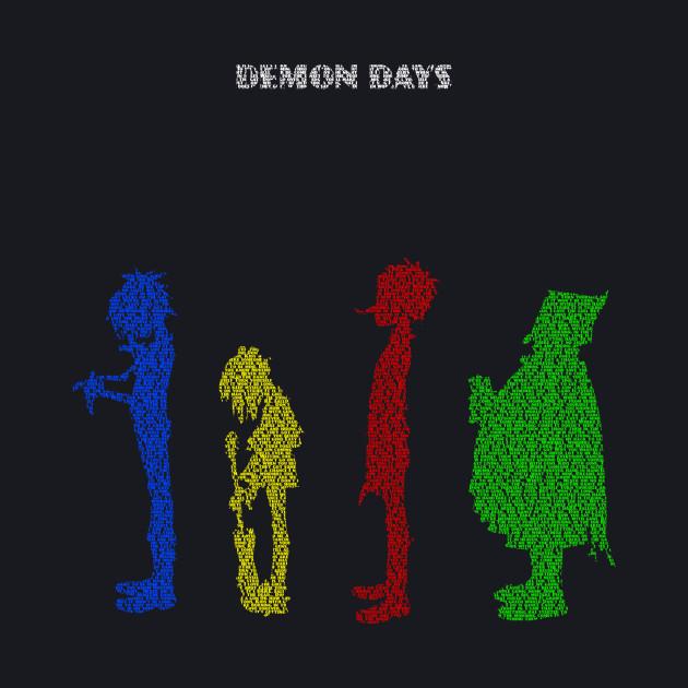 Gorillaz Demon Days Lyric Shirt