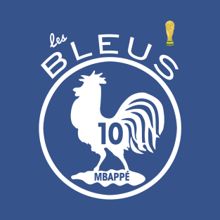 Les Bleus Champions Du Monde 2018 T Shirts Teepublic