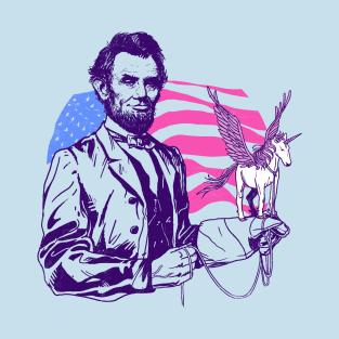 Pegacorn Lincoln t-shirts