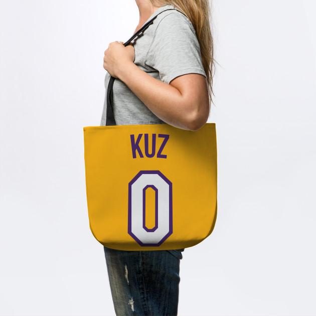 e7d8bbcc3a0 Kyle Kuzma  KUZ  Nickname Jersey - Los Angeles Lakers - Nba - Tote ...