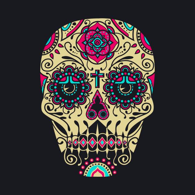 Day of the Dead Deco Skull 3