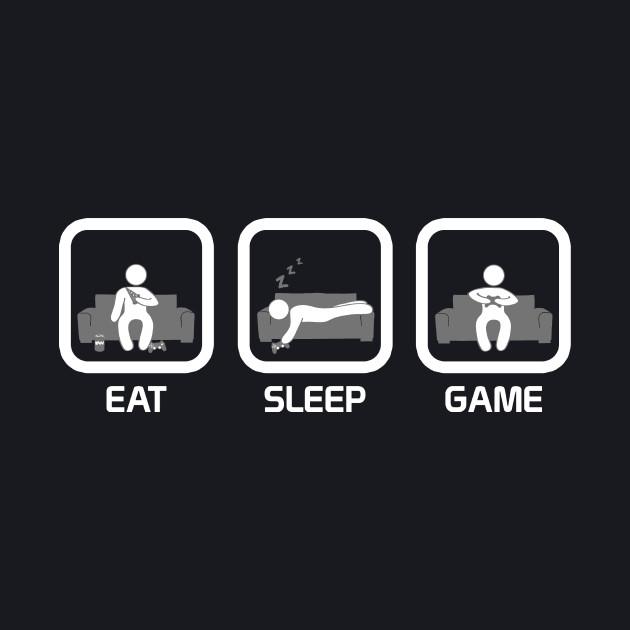 Eat, Sleep, Game (Console)
