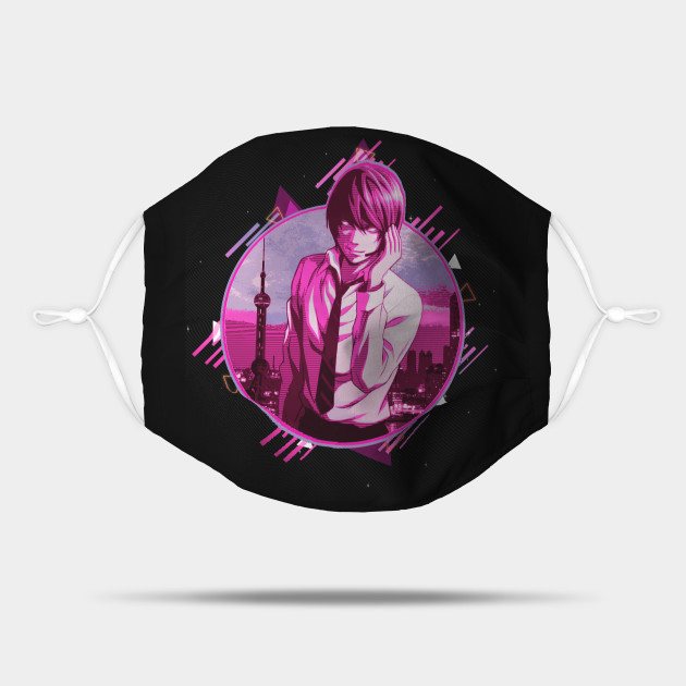Death Note : Light Yagami - Kira : 80's retro style - awsome gift for anime lover